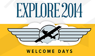 Welcome Days 2014 is full of events to help you learn all about becoming a Lewis Flyer.