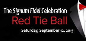 Register today for the 2015 Signum Fidei Celebration honoring Br. James Gaffney, FSC.