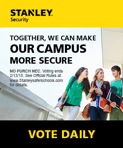 Nominate Lewis University for the STANLEY Security TOGETHER FOR SAFER SCHOOLS Grant Program.
