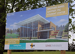 Gaffney Student Center coming in 2018.