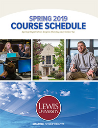 Spring 2019 Course Schedule