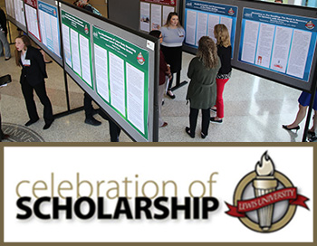 Showcase your work at Celebration of Scholarship on April 11, 2019.