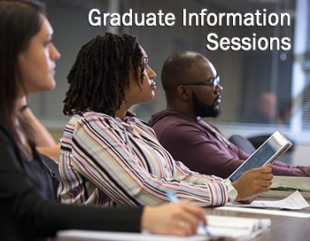 Learn more about our Graduate programs.