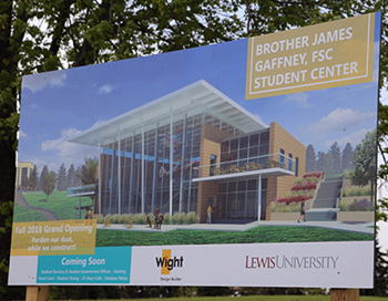 Join us for the dedication of the new Brother James Gaffney, FSC, Student Center at Lewis.