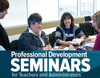 Professional Development Summer Seminars.